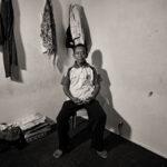 Yusrin Djamaula, 65 tahun, alamat Pantoloan Boya, Palu Utara, Sulawesi Tengah, dipenjara tanpa peradilan 1965 dan dibebaskan 1979, dipekerjapaksakan selama dipenjara.