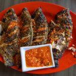 Food-Grilled Tilapia Fish_01
